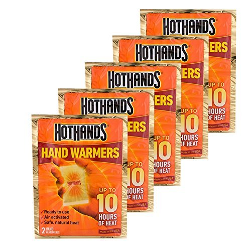 Hand warmers for traveller
