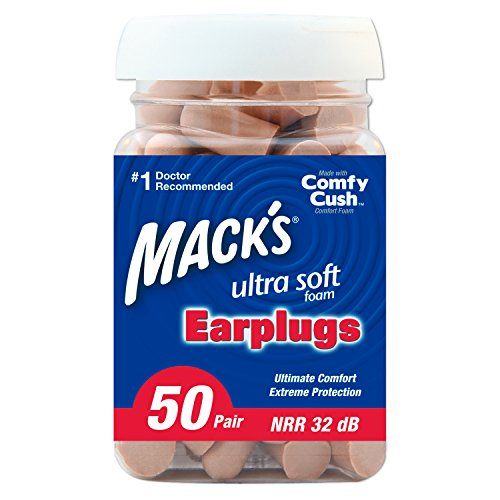Ear plugs for traveler on air