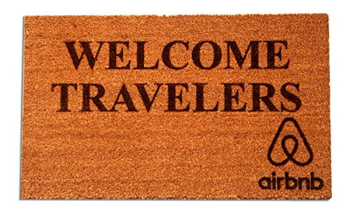 Welcome DoorMat for travel lover