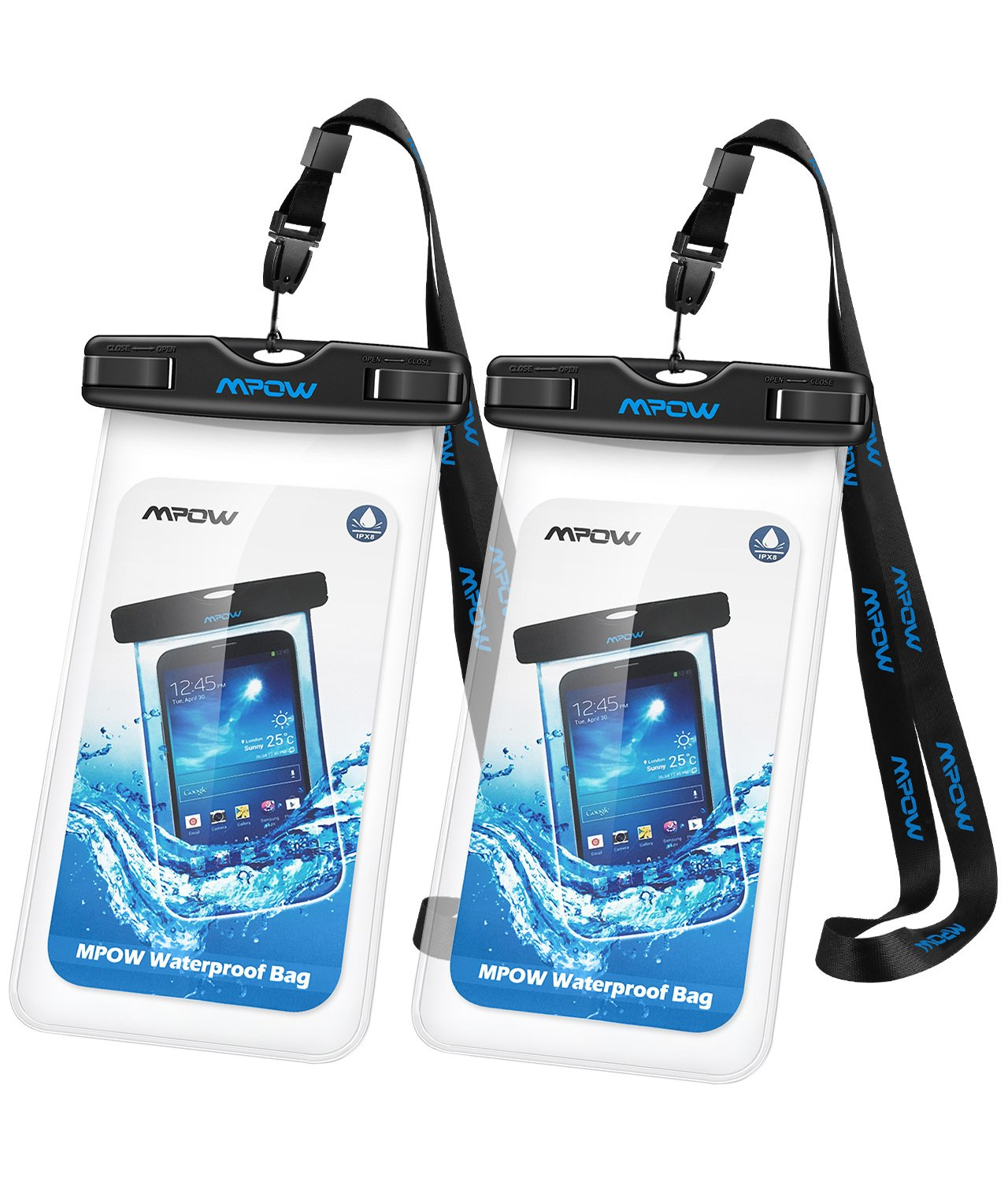 Waterproof bag for mobile or documents for a travel gift