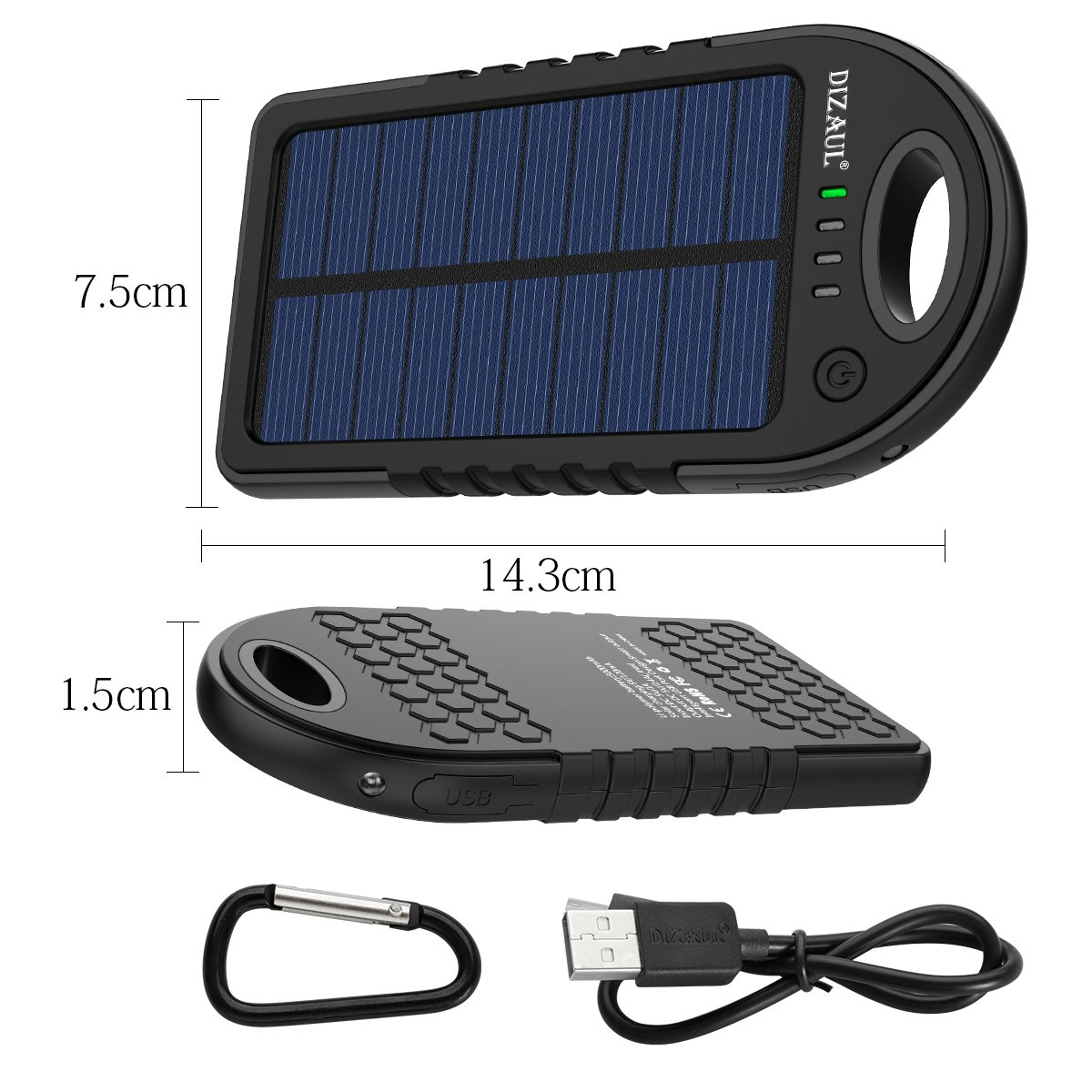 Solar portable charger gifts for people who love to travel