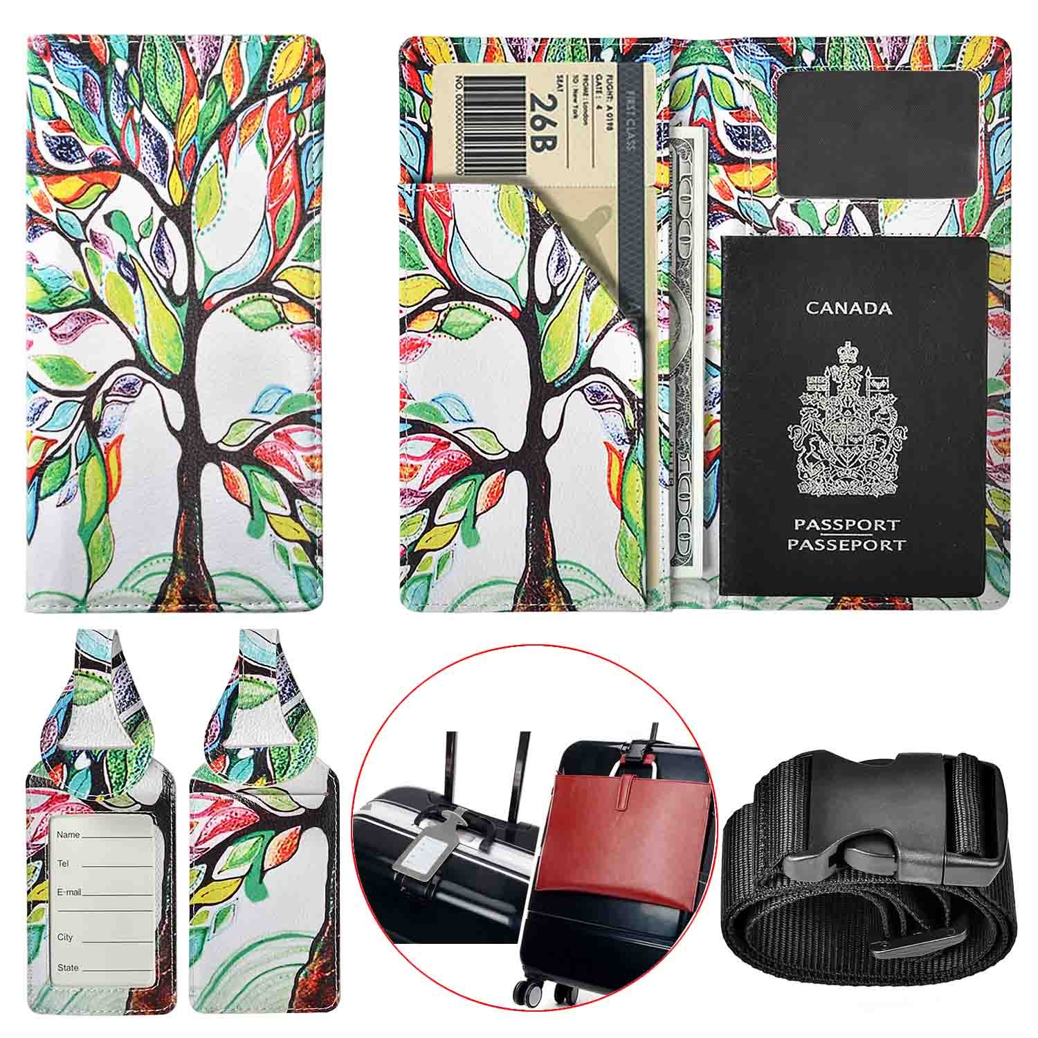 best gifts for travelers passport cover tag luggage
