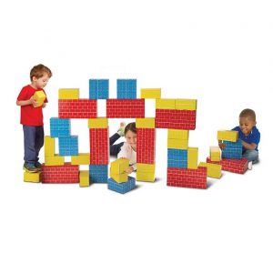 Jumbo Extra-Thick Cardboard Building Blocks