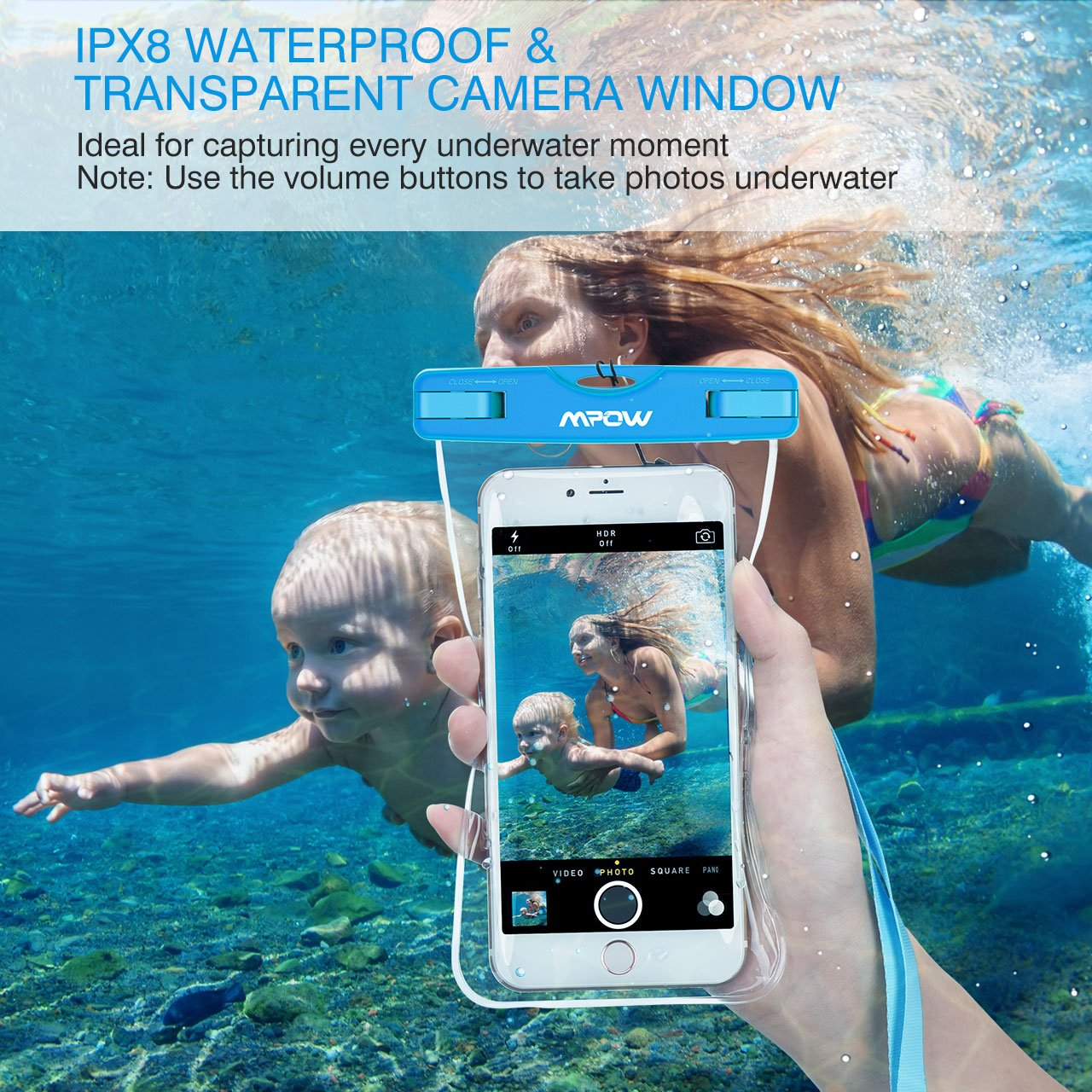 Waterproof bag protects mobiles gifts for travelling
