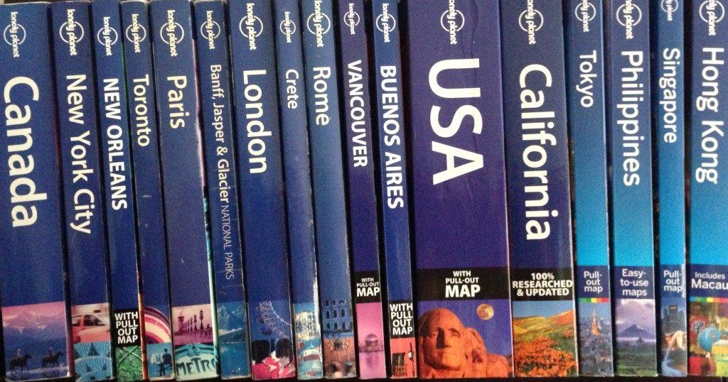 lonely planet guide for travel lovers
