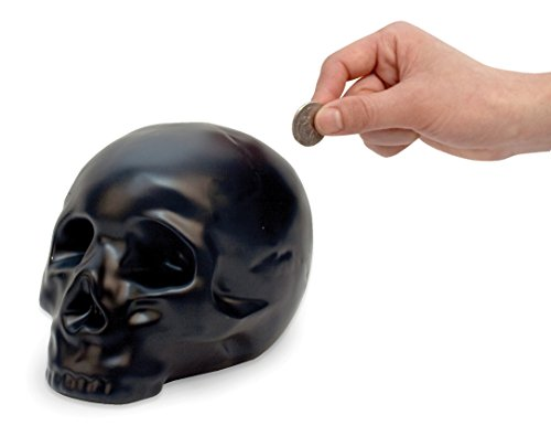 Skull piggy bank for Halloween Gifts