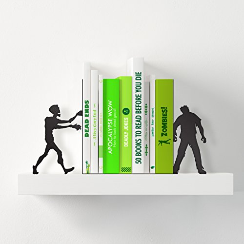 Zombies books shelf for Halloween Gifts