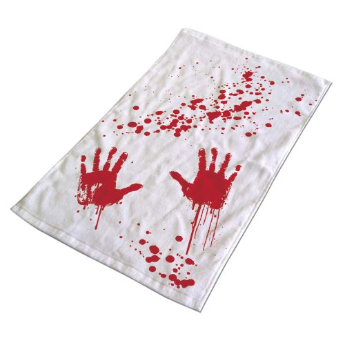 Halloween Bloody hand towel
