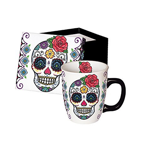 Halloween Mexican skull cup