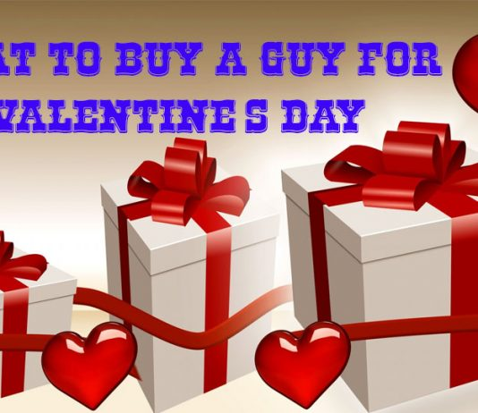 What to buy a guy for valentines day