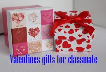 Valentines gifts for classmate