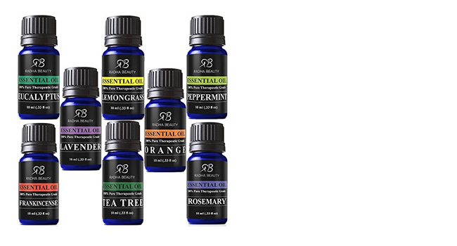 Beauty Aromatherapy Top 8 Essential Oils