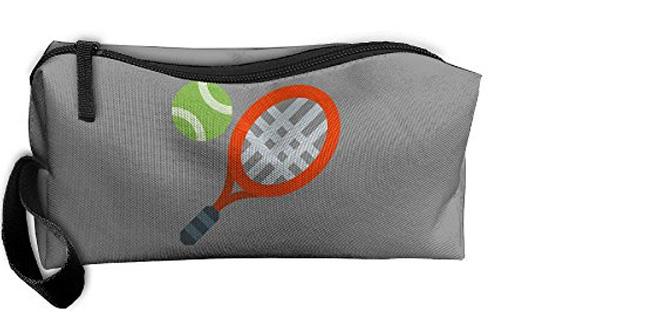 Tennis Racket Cosmetic Travel Makeup Bag