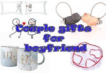 Couple gifts for boyfriend