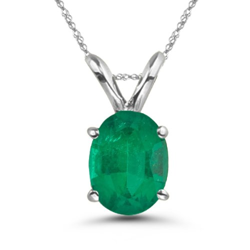Platinum and Emerald jewelry for 20 years anniversary