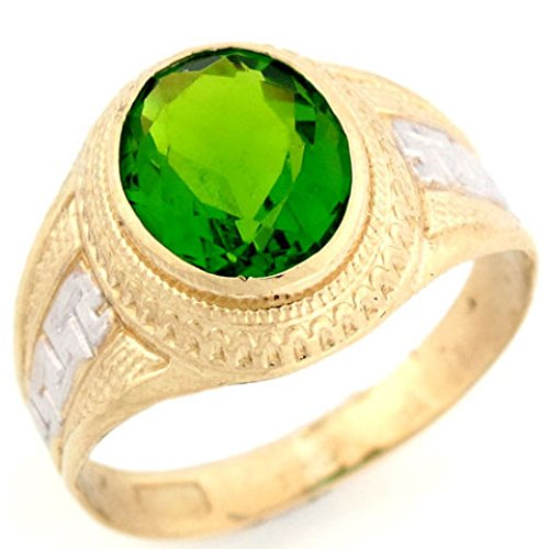 Peridot gold Ring is great 1st anniversary gifts for men