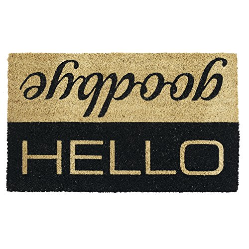 Hello goodbye doormats are cool unique Christmas gifts
