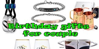 What Is The Most Impressive Birthday Gifts For Couples