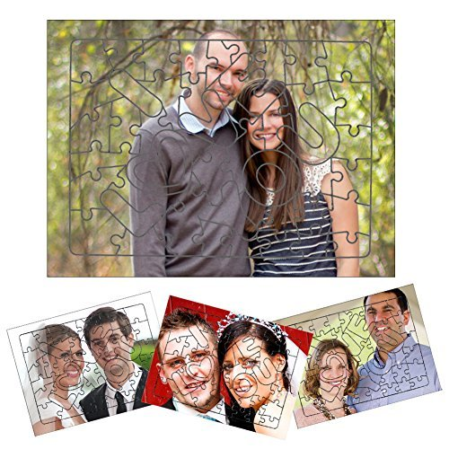 Picture Jigsaw Puzzle is a great personalized idea for 1st anniversary for him