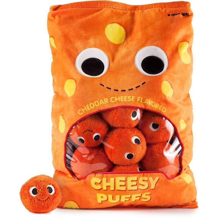 Arnold & the Puffs Cheese Puffs Plush