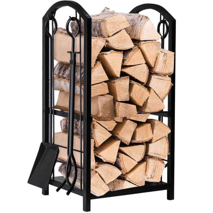 Fireplace Log Rack