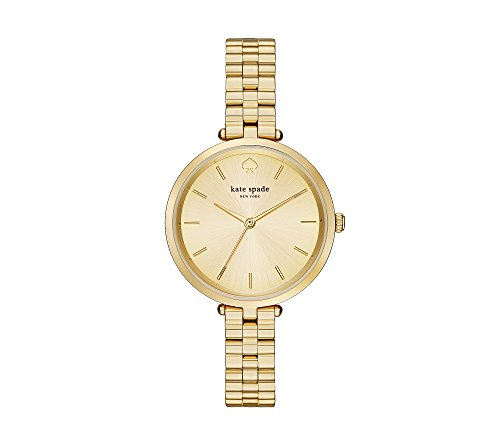Holland Goldtone Stainless Steel Watch