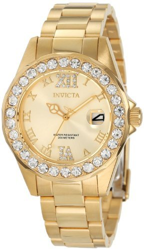 Invicta Gold-Plated Watch