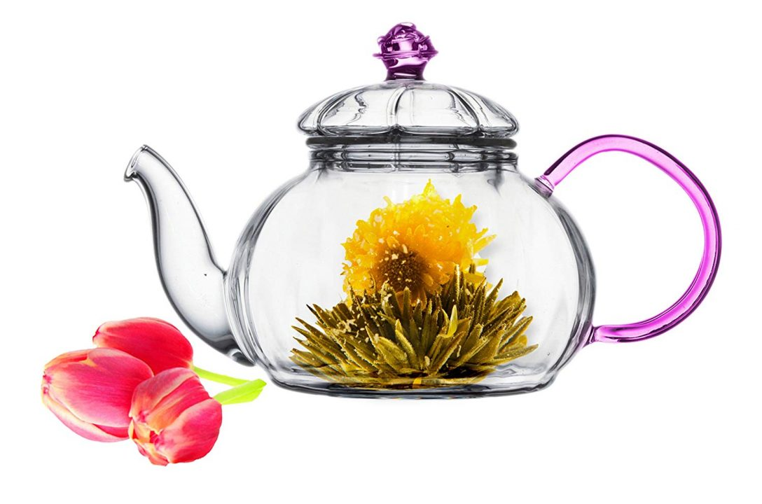 Juliet Glass Teapot Set