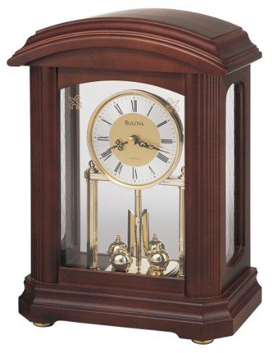 Walnut Finish Nordale Clock