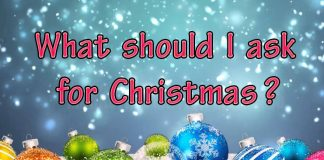 what should i ask for christmas
