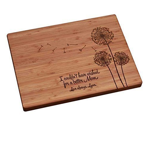 Personalized Cutting Board is cool Christmas gifts for boyfriend's parents