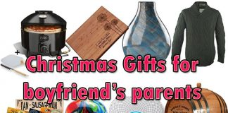 Christmas gifts for boyfriends parents