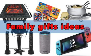 Family gift ideas for fun and housewarming