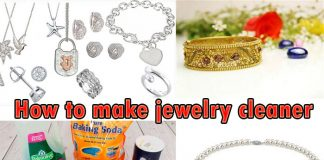 How to make jewelry cleaner