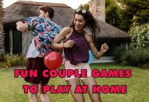 Fun couple games to play at home