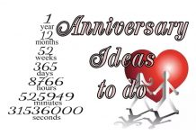 one year anniversary date ideas to do