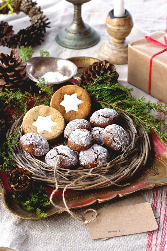 Deliver homemade holiday treats to someone unexpected