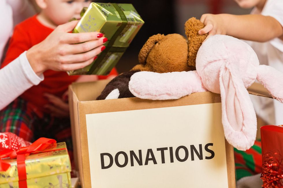 Donate a toy to a local drive
