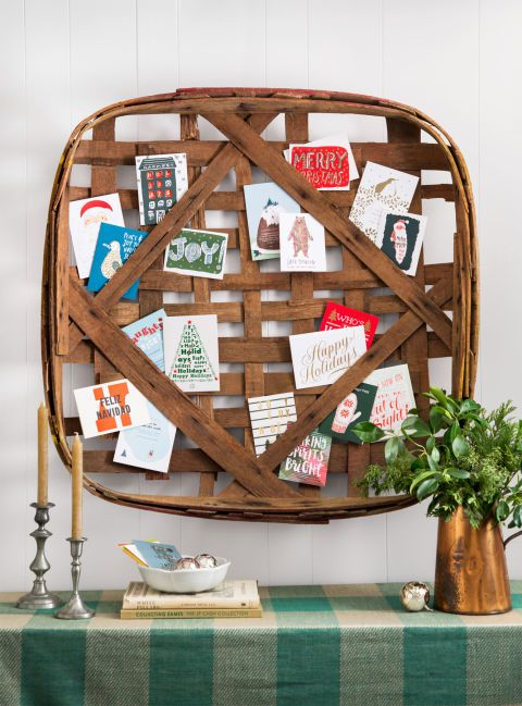 Find a fun way to display your holiday cards