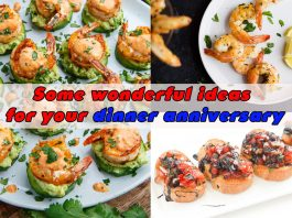 Dinner anniversary ideas