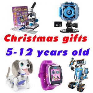 Christmas gifts for Grade schooler, kids from 5 to 12 years old