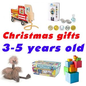 Christmas gifts for Pre-schooler, Kids from 3-5 years old