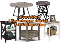 beautiful Farmhouse tables for living room