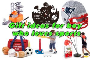 gift ideas for boy who loves sports